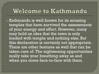 Kathmandu flights and Travel guide