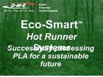 eco-smart   hot runner systems