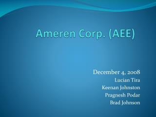 Ameren Corp. AEE