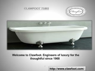 High Quality Claw Foot Bath Tubs
