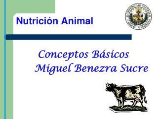 Nutrici n Animal