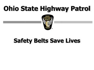 safety belts save lives