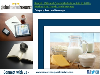 Milk and Cream Markets in Asia to 2018 | Research Report