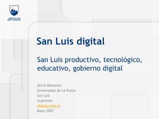 San Luis digital