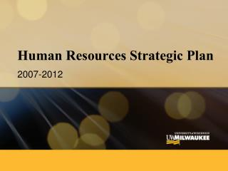 Human Resources Strategic Plan