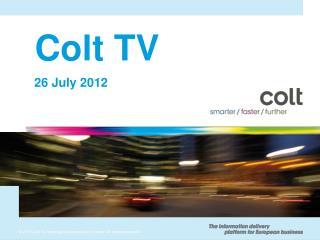 Colt TV