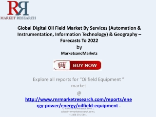 Analysis for Digital Oil Field Market 2022