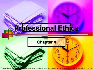 ethical behavior and professional judgment