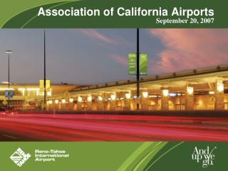 Association of California Airports