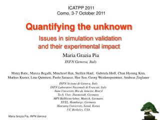 Quantifying the unknown  Issues in simulation validation  and their experimental impact