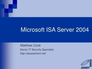 Microsoft ISA Server 2004