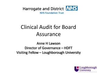 Clinical Audit for Board Assurance