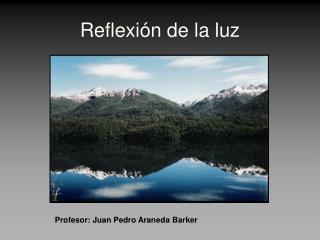 Reflexi n de la luz