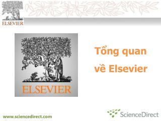 Tng quan v Elsevier