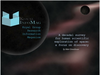 Koyal Group Research Information Magazine: a focus on discov