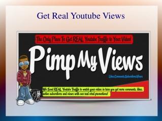 real usa youtube views