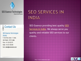 SeoEssence.com-All Types of Online Web Solution  Services