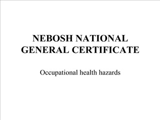nebosh national general certificate