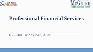 Financial Services Edmonton - Mcguire Financial