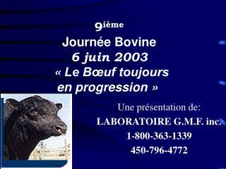 une pr sentation de:  laboratoire g.m.f. inc. 1-800-363-1339 450-796-4772
