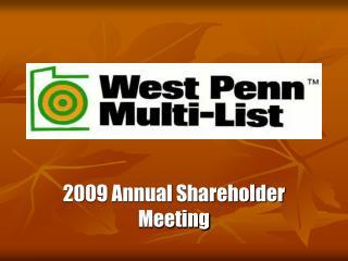 2009 annual shareholder meeting