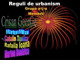 Reguli de urbanism