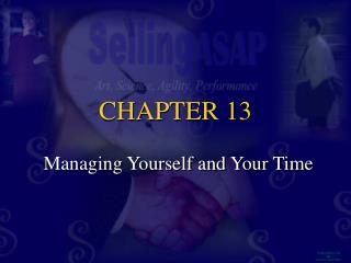 Managing Yourself and Your Time