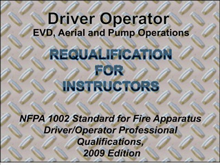 driver operator