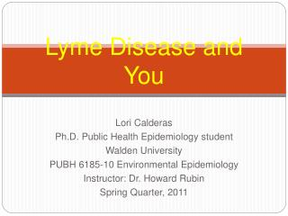Lyme Disease and You
