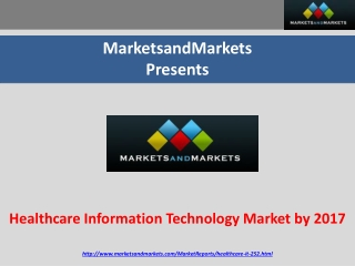 Healthcare Information Technology Market by 2017