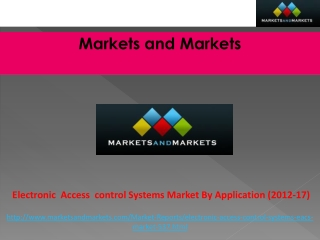 Electronic Access Control Systems By Application