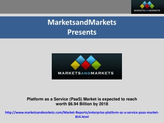 Platform as a Service (PaaS) Market is expected to reach   w