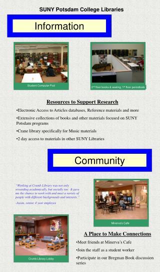 SUNY Potsdam College Libraries