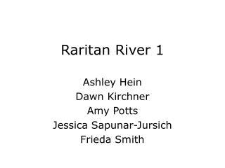 Raritan River 1