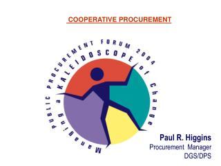 cooperative procurement