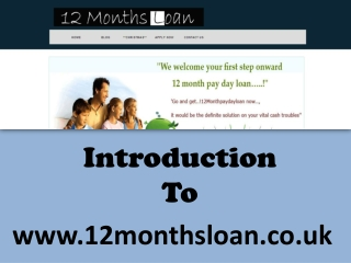 6 Months loan - Short term payday loan in UK