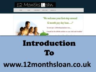 6 Months loan - Short term payday loan in UK