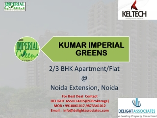 Imperial Greens Noida Extension - 2/3 BHK Booking (0% Broker