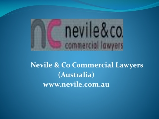 Property law and property development