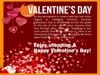 V-Day Online Shopping Trends In India During Valentine's Day