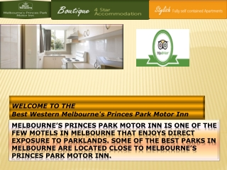 motels in melbourne