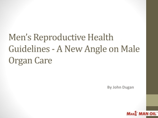 Men s Reproductive Health Guidelines