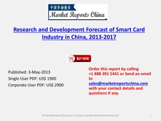 Chinese Smart Card Research