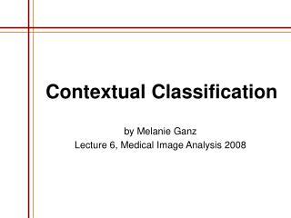 Contextual Classification