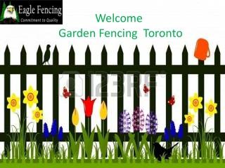 Garden Fence Toronto