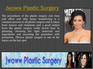 Plastic Surgery Prices