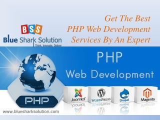 Get the best PHP web development services by an expert