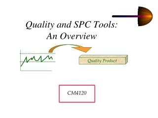 Quality and SPC Tools:  An Overview
