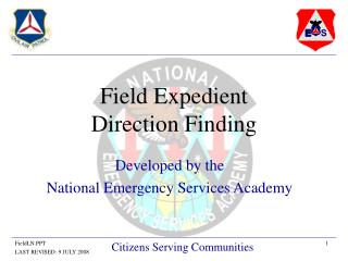 Field Expedient  Direction Finding