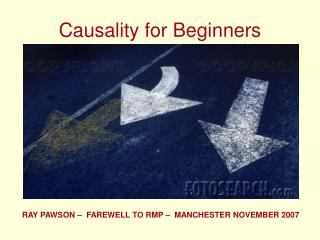 Causality for Beginners